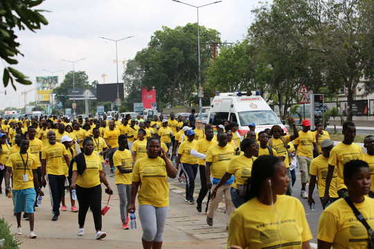 UNHCR organises solidarity and fundraising walk for Refugees